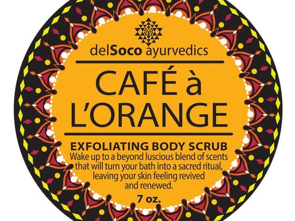 CAFE a l-ORANGE Exfoliante Anticelulitico